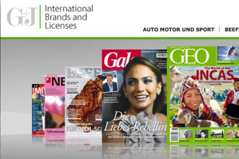 Website G+J International Brands