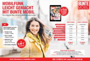 Anzeige BUNTE Mobil