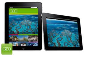 Screendesign GEO App